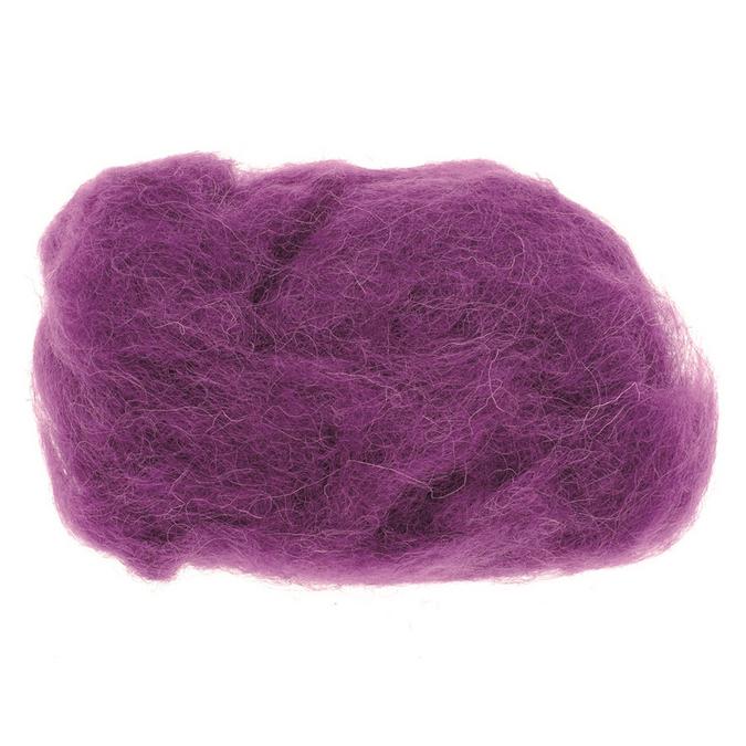 Laine de mouton 30g lilas