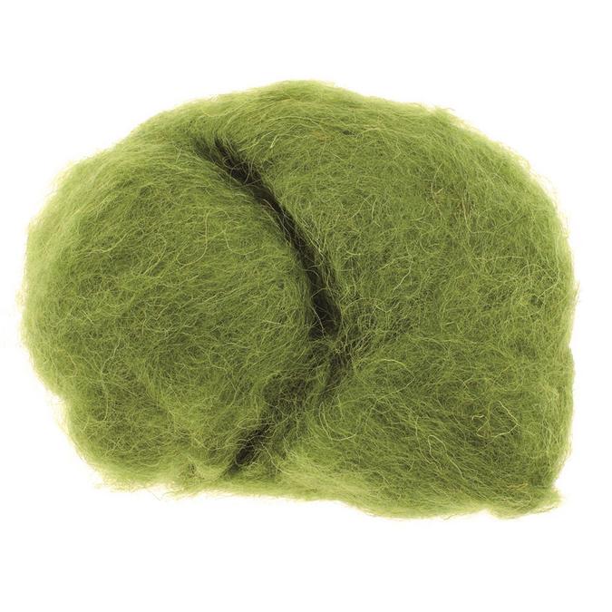 Laine de mouton 30g vert
