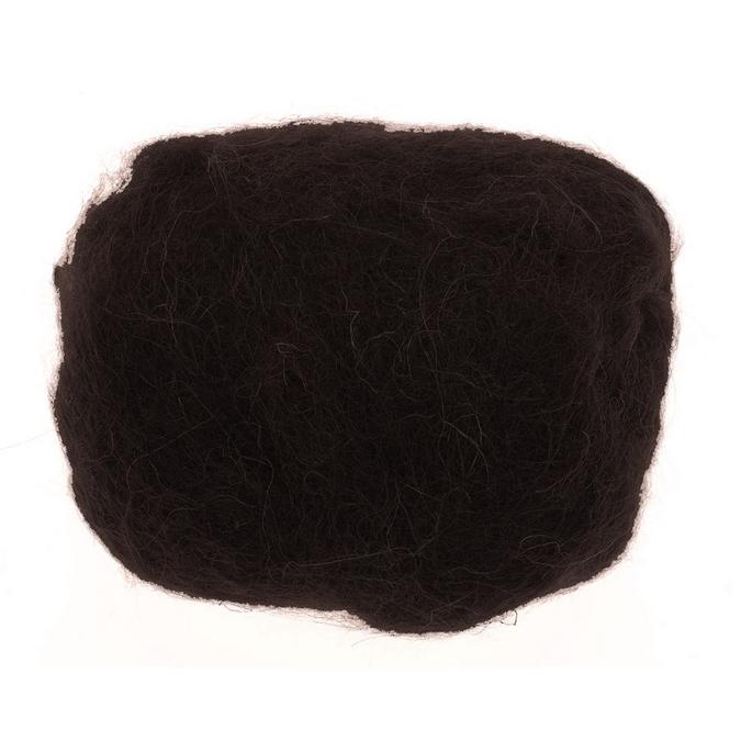 Laine de mouton 30g noir
