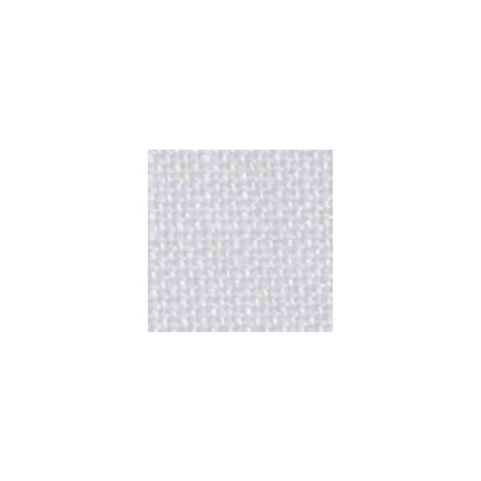 Toile de lin 11 fils/cm - Petit modèle Blanc 35 x 45 cm