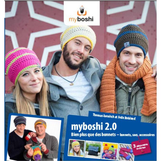 Livre Myboshi 2.0 Bien plus que des bonnets - bonnets, sac, accessoires