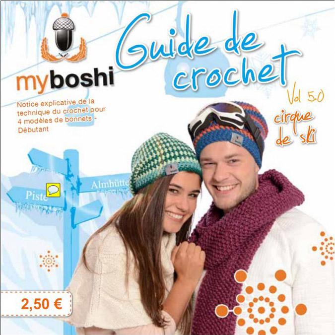 Guide de tricot Vol 5.0 Myboshi - Cirque de ski