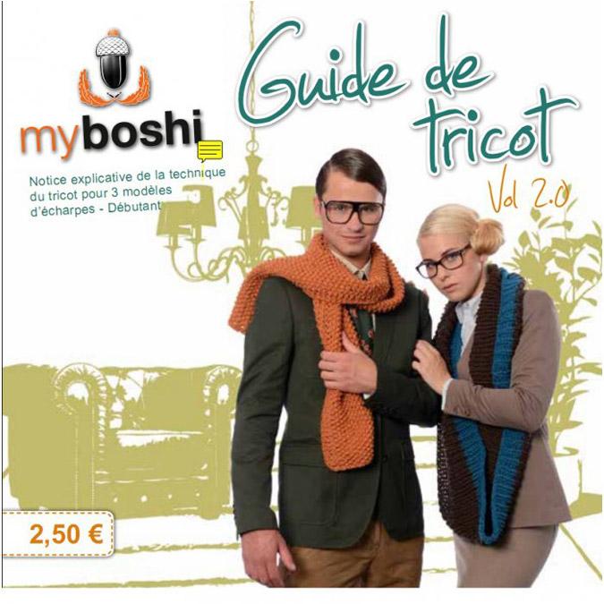 Guide de tricot Vol 2.0 Myboshi