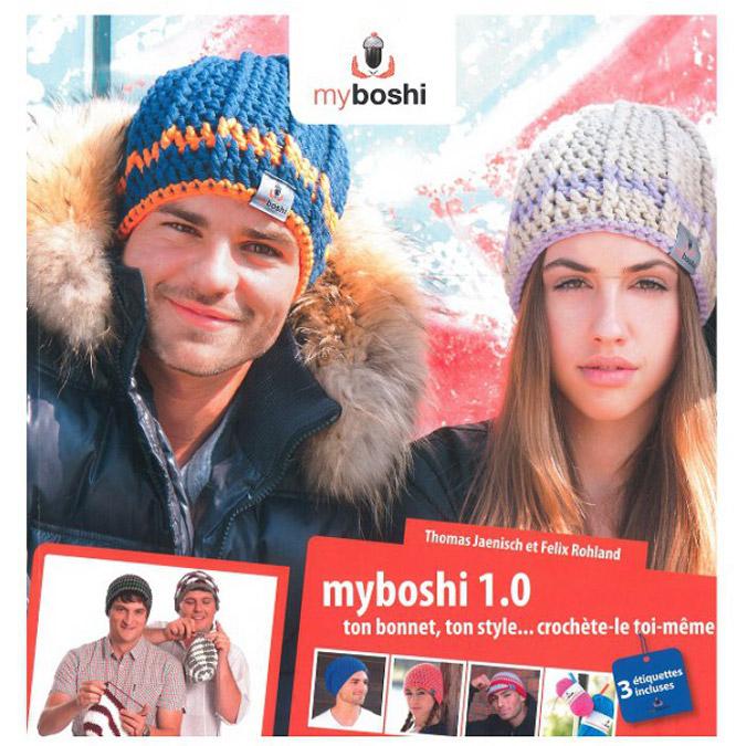 Livre Myboshi 1.0 ton bonnet, ton style… crochète-le toi-même