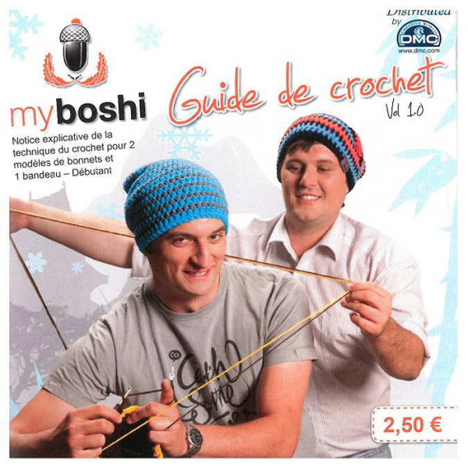 Guide de crochet Myboshi Vol 1.0