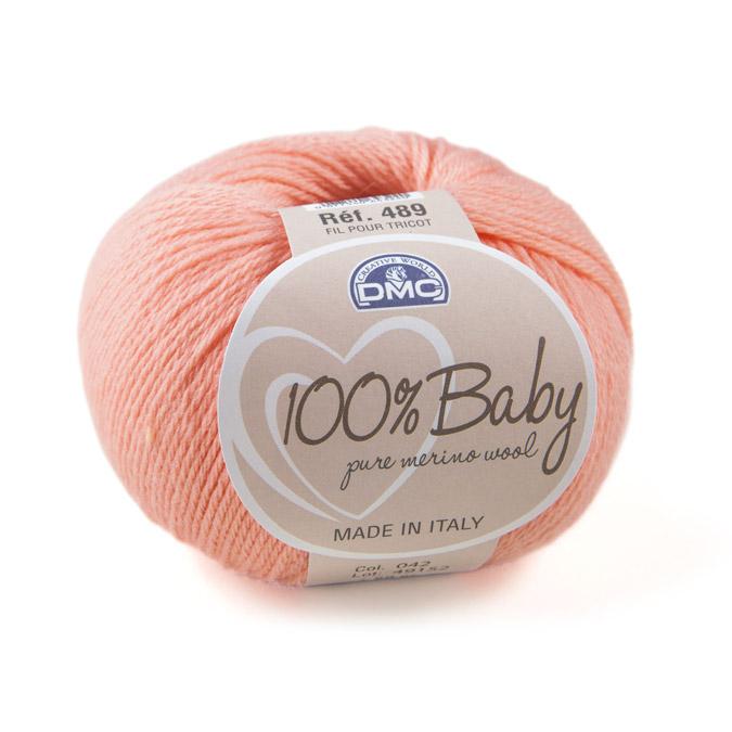 Laine mérinos 100% baby - Pelote 50 g 01 - Blanc