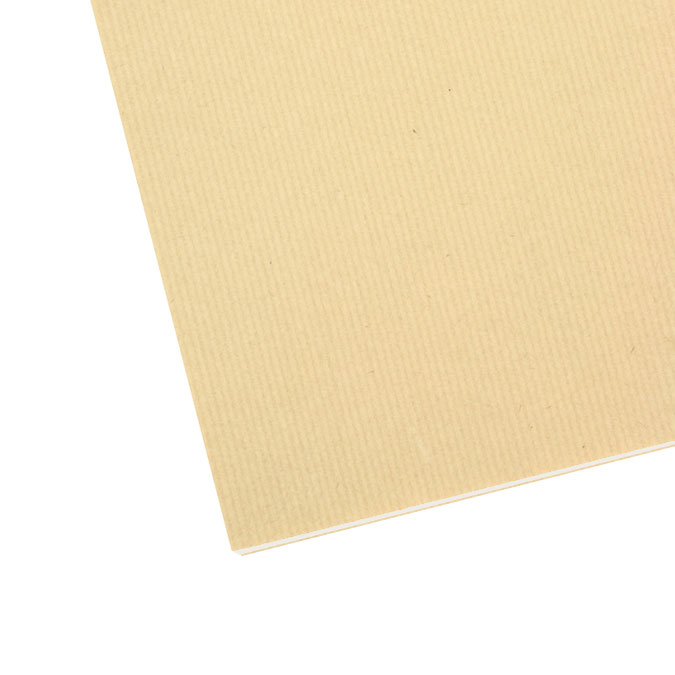 Carton gris 2 faces kraft 80 x 120 cm 2,9 mm