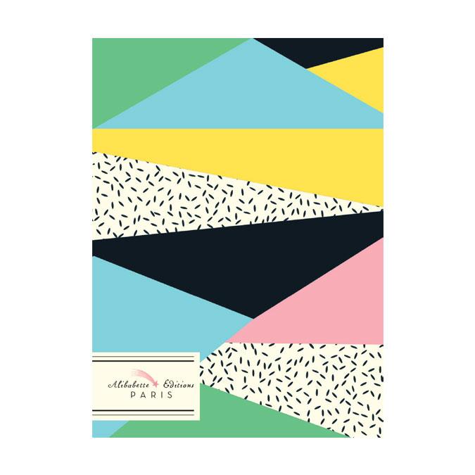 Carnet broché A6 couverture Chamonix soft touch