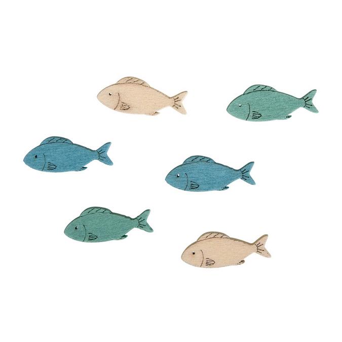 Miniature poissons 3 x 1 cm - 15 pcs