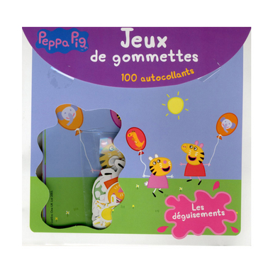 jeux de gommettes peppa pig d guisements interforum chez rougier pl. Black Bedroom Furniture Sets. Home Design Ideas