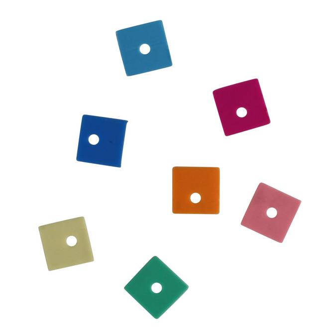 Sequins carrés 6 mm