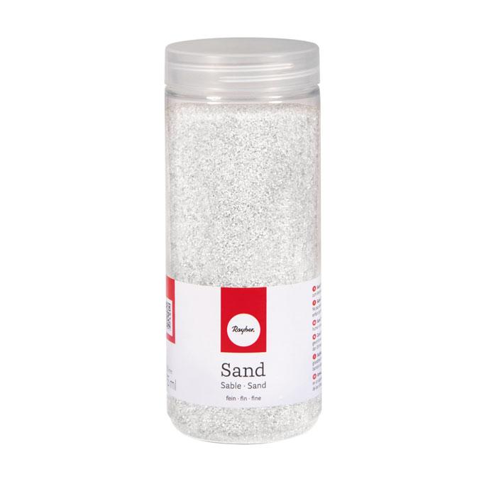 Sable fin blanc 0,1 à 0,5 mm - 475 ml
