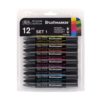 Marqueur Brushmarker 12 tons Vibrants