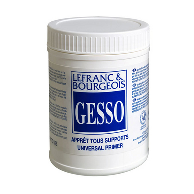 Gesso apprêt tous supports 500 ml