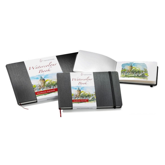Livre de papier aquarelle Watercolour Book 200 g/m² - 30 pages Paysage