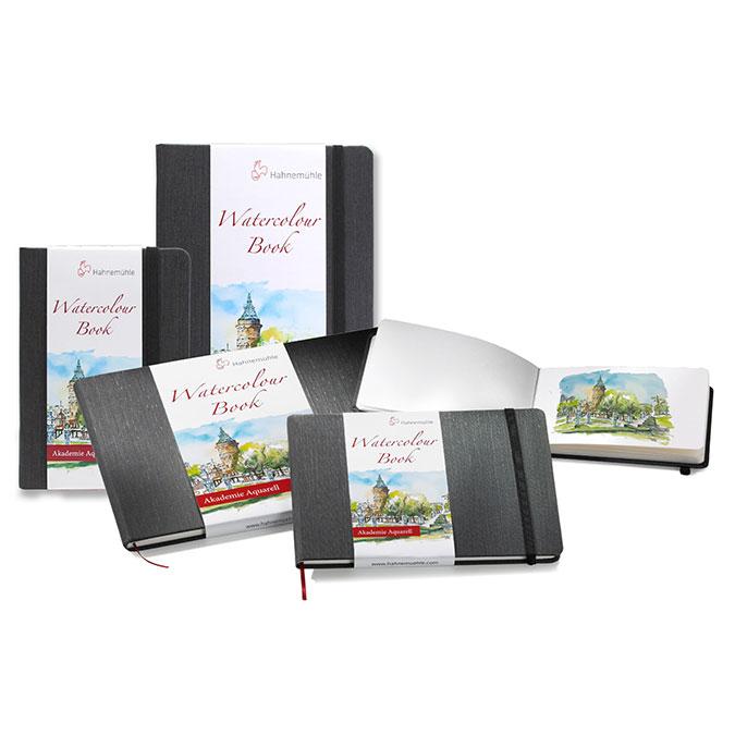 Livre de papier aquarelle Watercolour Book 200 g/m² - 30 pages Portrait