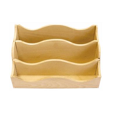 range courrier en bois 25 x 13 x 15 cm ctop chez rougier. Black Bedroom Furniture Sets. Home Design Ideas