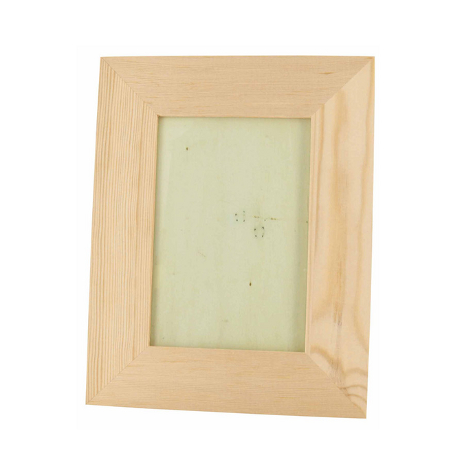Cadre en bois vitré pour photo - 18 x 23 x 1,2 cm