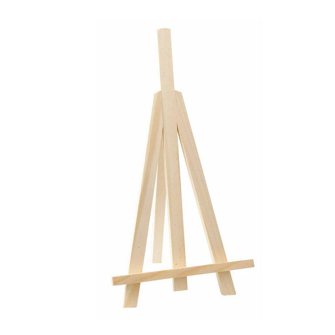 Petit chevalet en bois - 13 x 26 x 11 cm