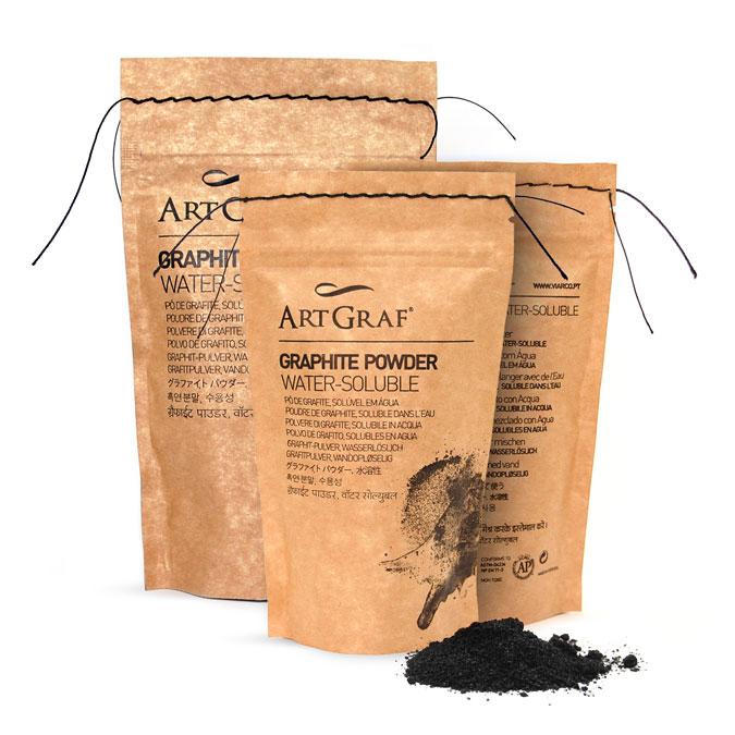 Poudre de graphite Aquarellable 250 g