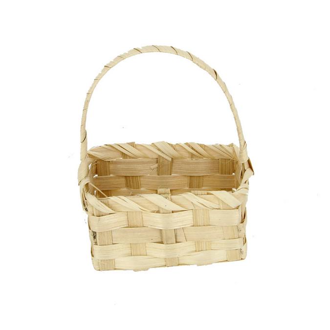 Panier en bambou 9 x 5 x 13 cm