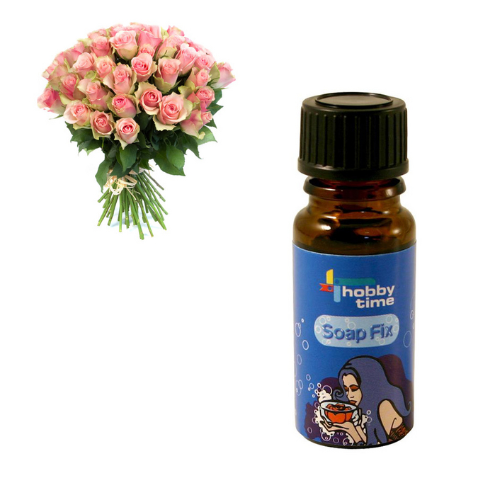 Essence parfumée pour savon Rose 10 ml