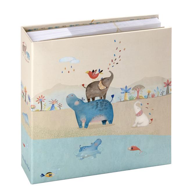 Album photo à pochettes - 100 pages 24,5 x 26 cm - Modèle Les Papoum