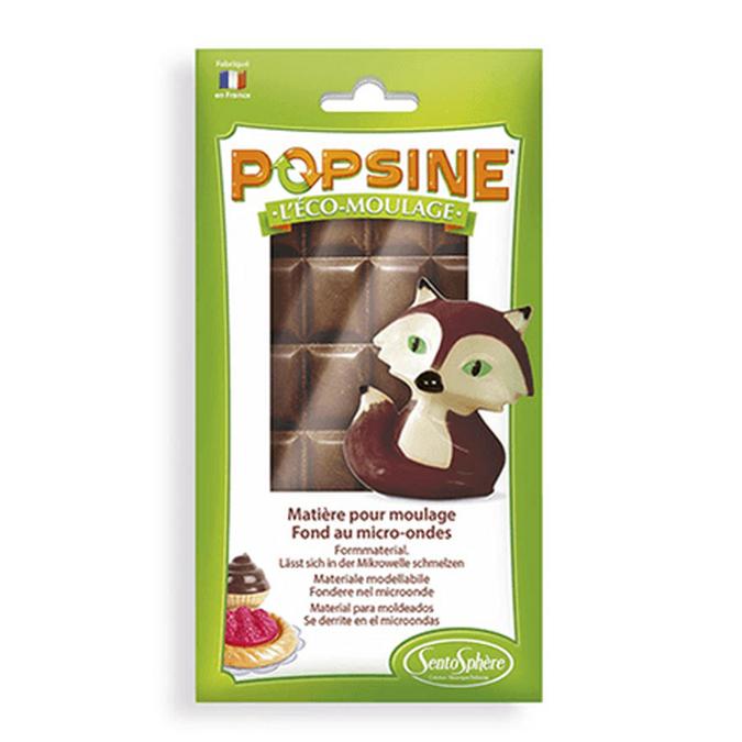 Matière pour moulage Popsine 110 g Chocolat noir