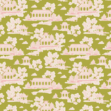 Coupon de tissu Collection Bumblebee 50 x 55 cm - Sunny Green