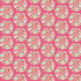 Coupon de tissu Collection Bumblebee 50 x 55 cm - Flower Nest Pink