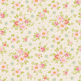 Coupon de tissu Collection Bumblebee 50 x 55 cm - Rosa Mollis Linen
