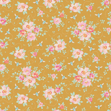 Coupon de tissu Collection Bumblebee 50 x 55 cm - Rosa Mollis Golden