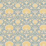 Coupon de tissu Collection Bumblebee 50 x 55 cm - Garden Bees Blue