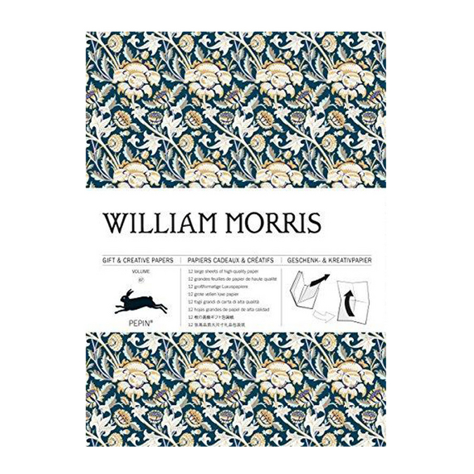Livre de papier cadeau Thème William Morris