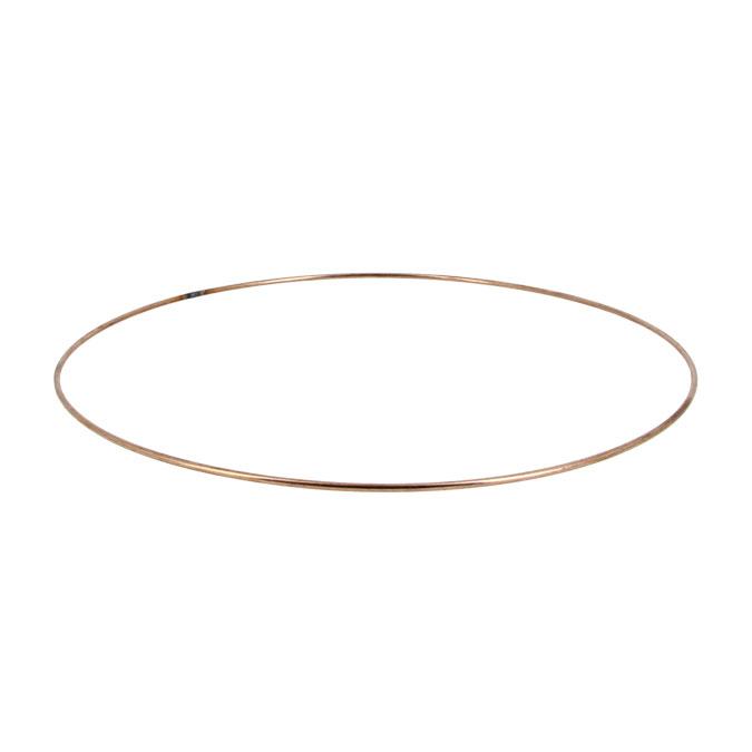 Carcasse d'abat-jour Cercle nu Ø 20 cm Cuivré