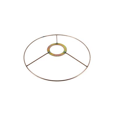 carcasse d 39 abat jour cercle bagu e27 20 cm cuivre fil cuivr le chez rougier pl. Black Bedroom Furniture Sets. Home Design Ideas