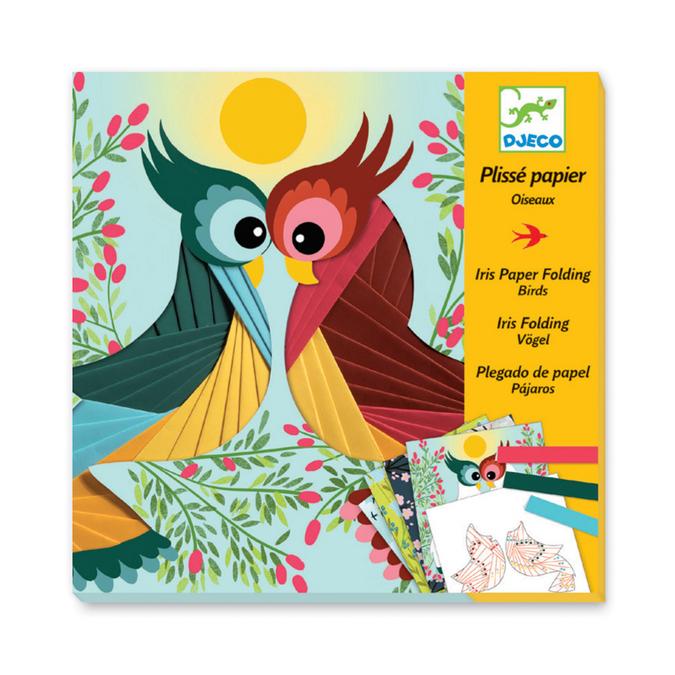 Atelier papiers créatifs Oiseaux
