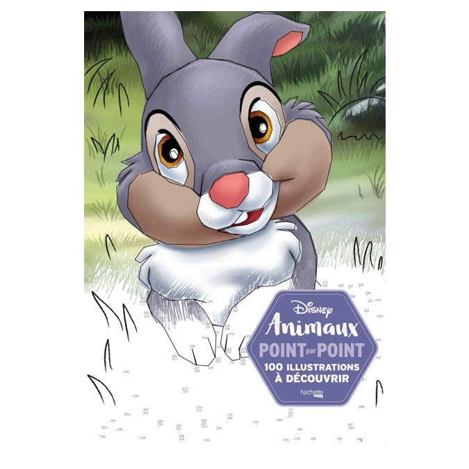Point par Point Disney Animaux 100 Illustrations à découvrir