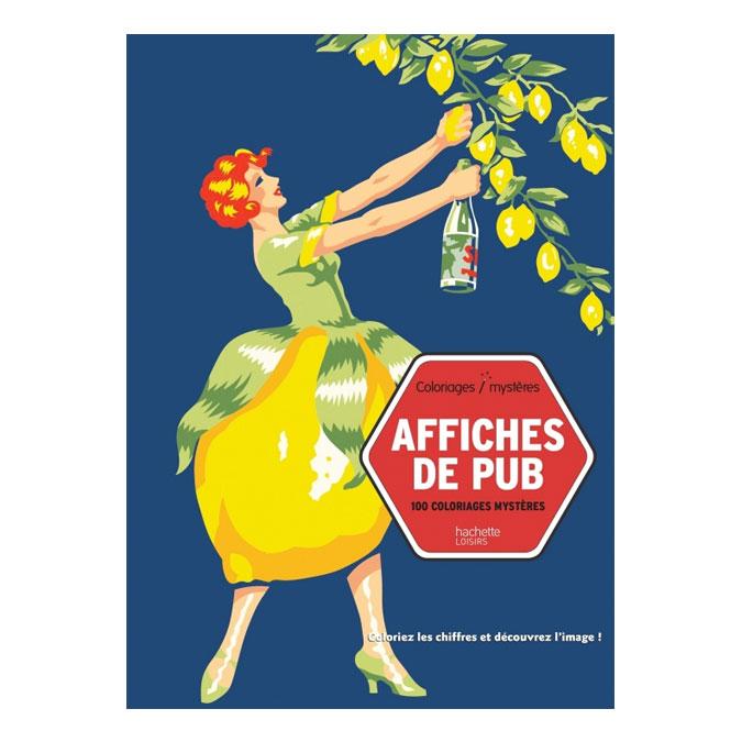 Coloriages mystères Affiches de Pub