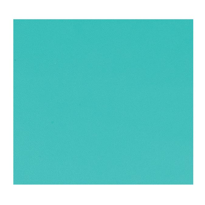 Feuille de simili cuir 30 x 30 cm Turquoise