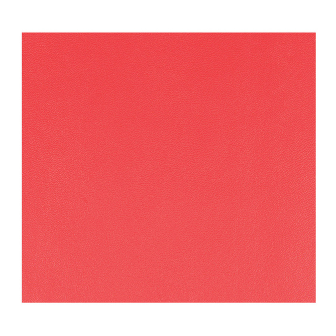 Feuille de simili cuir 30 x 30 cm Rouge