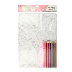 Kit de coloriage Love me tenders