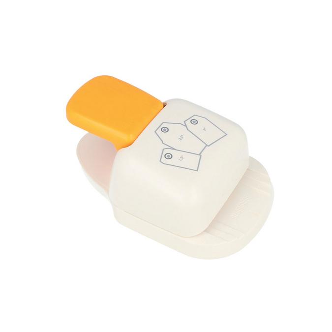 Perforatrice étiquettes droites x 3 pcs