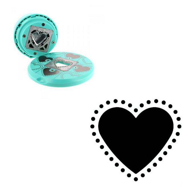 Perforatrice volante cœur