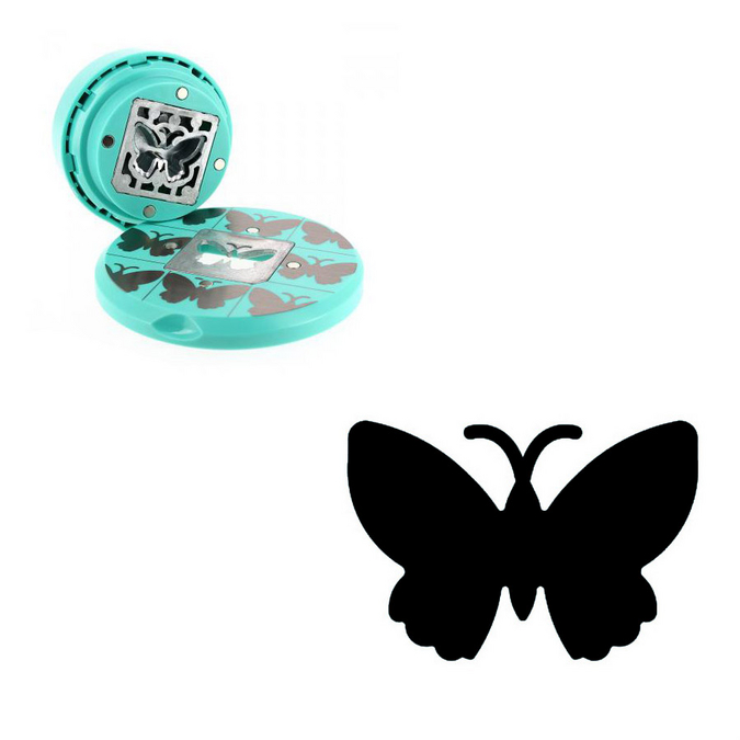 Perforatrice volante papillon