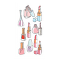 Stickers Puffies Fashionista vernis