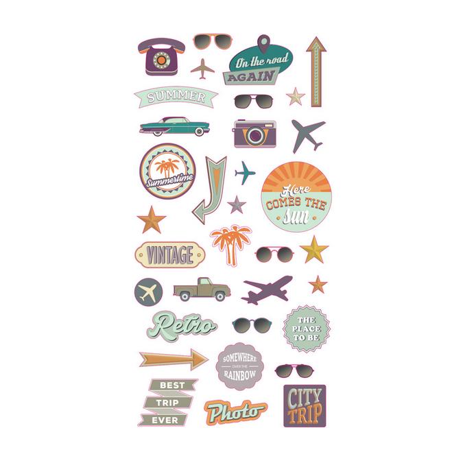 Stickers Puffies Sweet memories