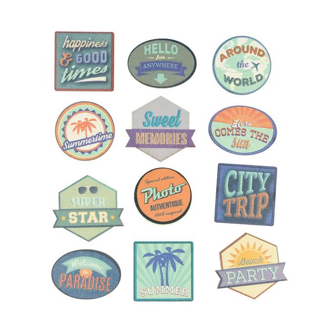 Stickers bois Sweet memories