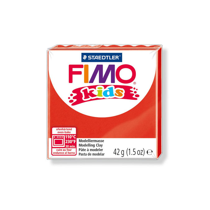 Pâte à modeler polymère Fimo Kids 42 g 106 - Jaune perle