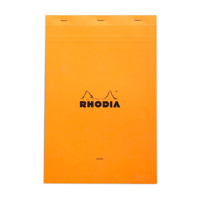 Bloc-notes n°19 Orange A4 Ligné